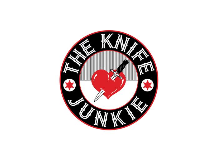 The Knife Junkie Logo Design