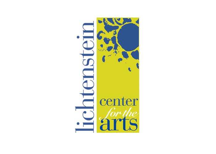 Lichtenstein Center for the Arts Logo Design