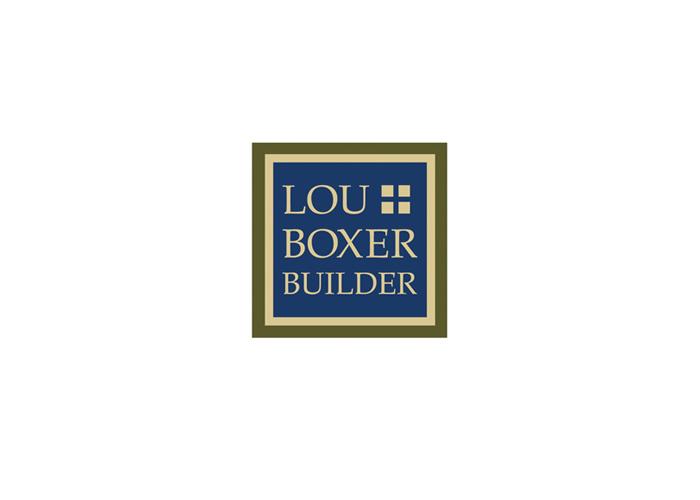 Lou Boxer Builder Logo Design